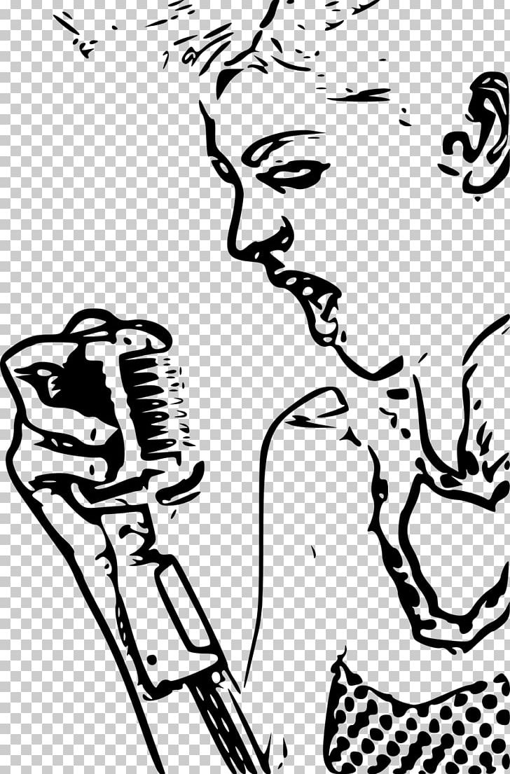 Karaoke Singing PNG, Clipart, Arm, Art, Artwork, Black.