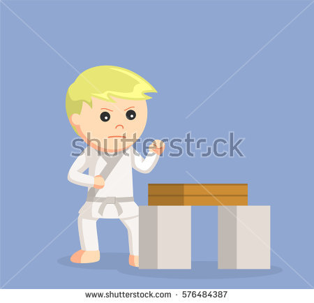 Karate Board Stock Images, Royalty.