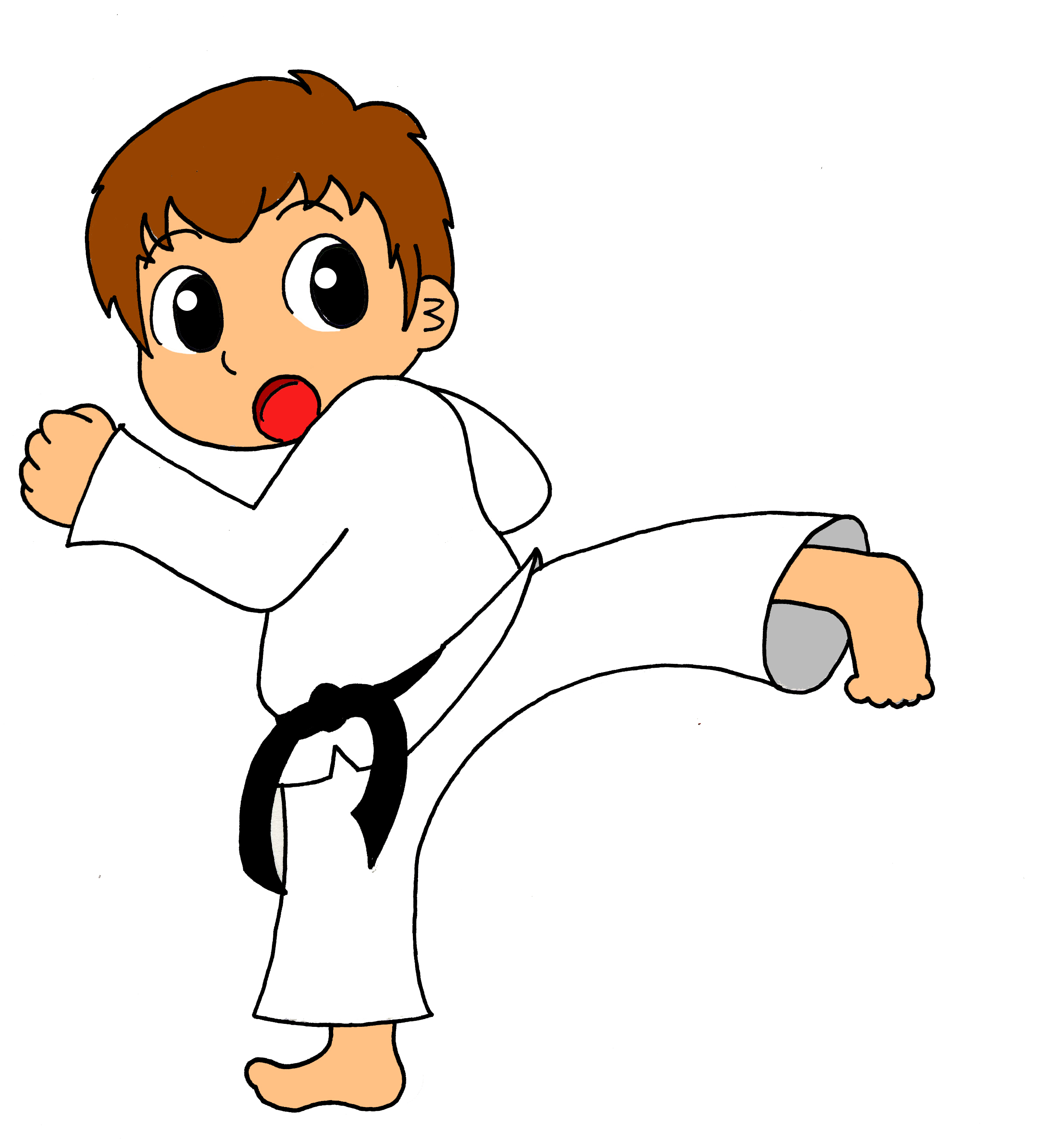 Showing post & media for Cartoon taekwondo clip art.