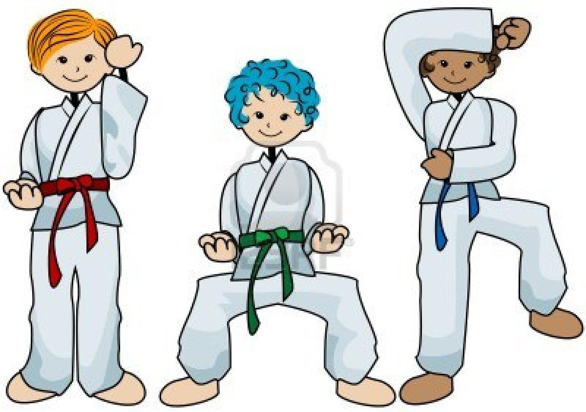 Do karate clipart.