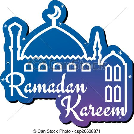 Vectors Illustration of Ramadan Kareem greeting card design.