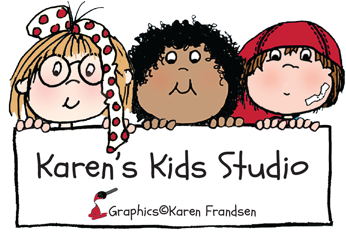 Karen's Kids Clip Art and Printable Products for Teachers.