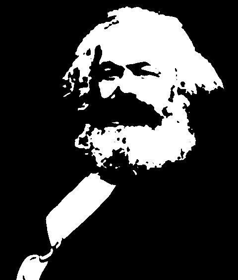 Funny Karl Marx Clipart.