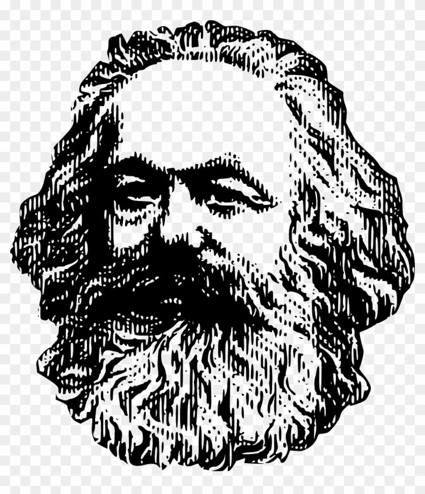 Karl Marx Philosophy Capitalism Png Image.