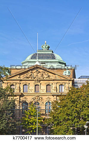 Picture of Federal Court of Justice, Karlsruhe k7700417.