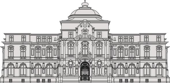 Karlsruhe Castle Clip Art, Vector Images & Illustrations.