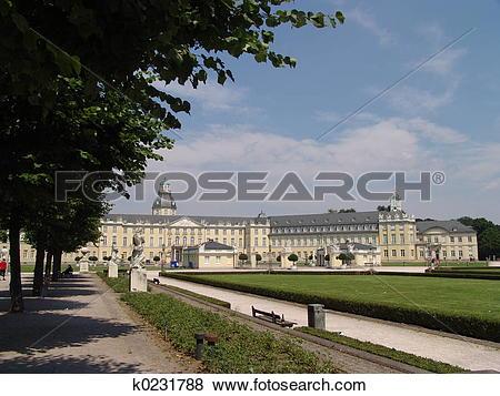 Pictures of Karlsruhe Schloss k0231788.