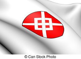 Flag of karmoy norway Illustrations and Clip Art. 3 Flag of karmoy.
