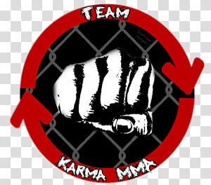 Team Karma MMA, Team Karma MMA logo transparent background.