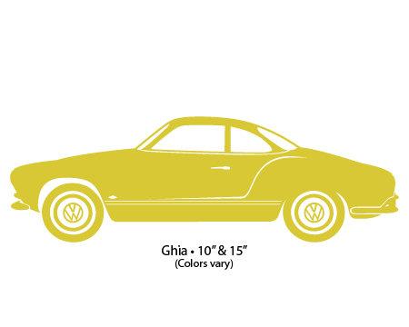 Decal 10 VW Karmann Ghia.