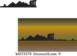 Karnak Clip Art Illustrations. 19 karnak clipart EPS vector.