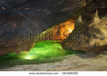 Karst Cave Stock Photos, Royalty.