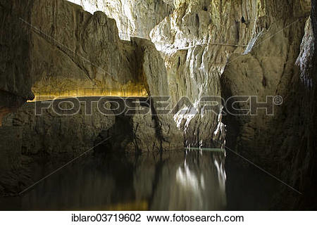 """Stock Photo of """"Skocjanske Cave, Skocjan Caves regional park."""