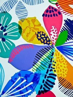 Indian pattern fish watercolor clip art/ Clipart.