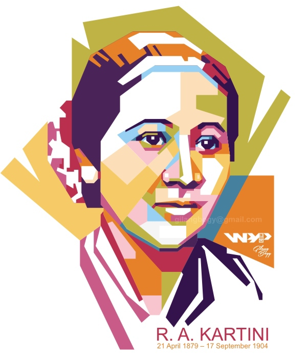R.A. KARTINI in WPAP on Behance.