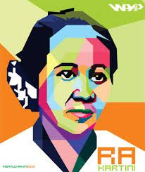 Commemoration of Kartini Day in 1953.