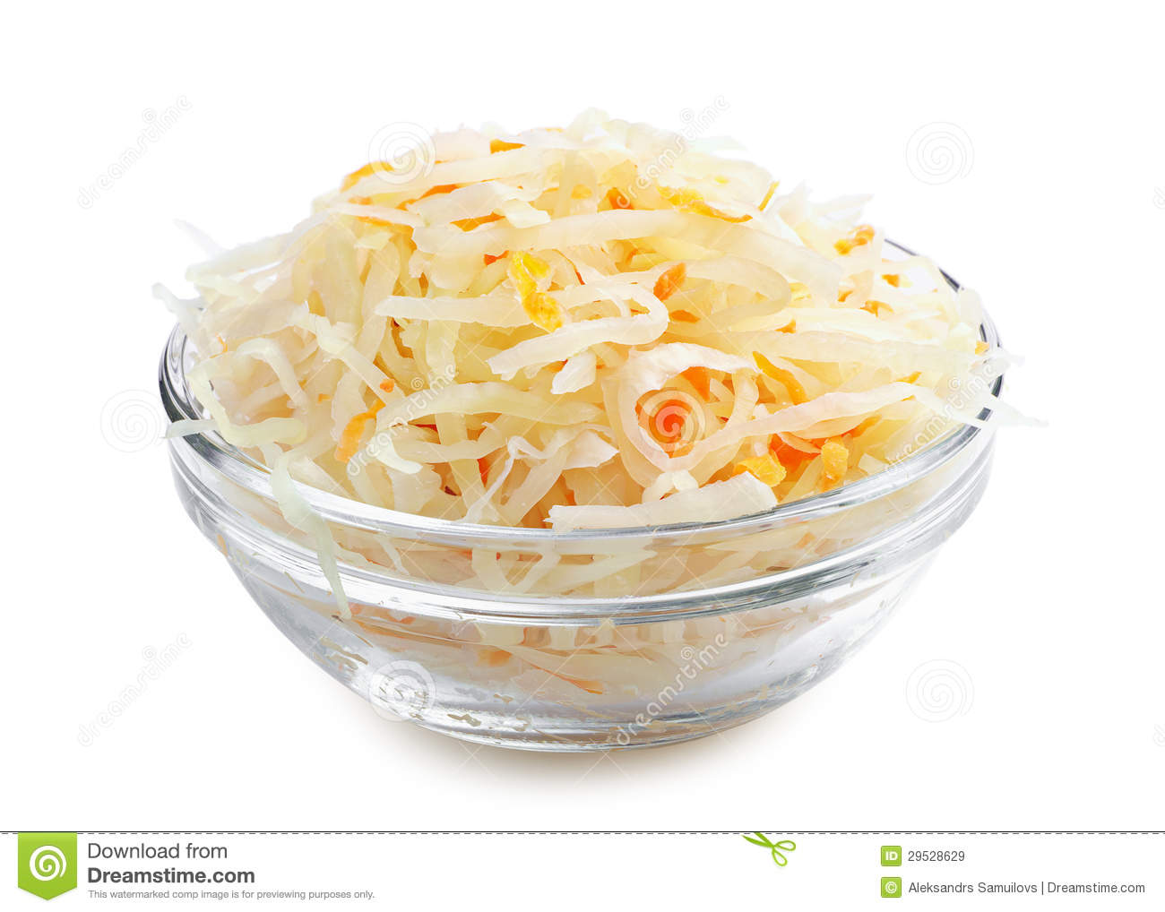 Sauerkraut Background Royalty Free Stock Photography.