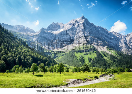 Karwendel Stock Photos, Royalty.