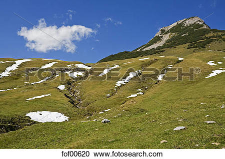 Stock Photography of Austria, Tirol, Karwendel, Landscape fof00620.