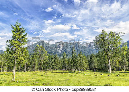 Pictures of Karwendel alps.