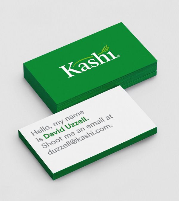 New Logo and Packaging for Kashi by Jones Knowles Ritchie.
