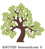 Kastanie baum Clip Art und Illustrationen. 1.748 kastanie baum.