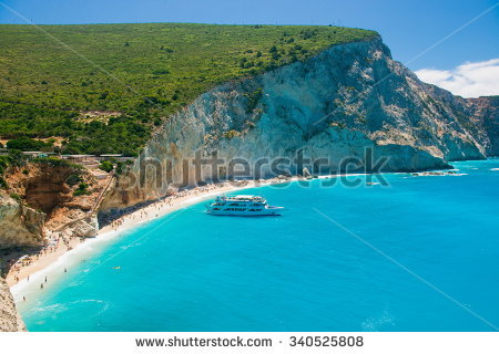 Porto Katsiki Stock Images, Royalty.