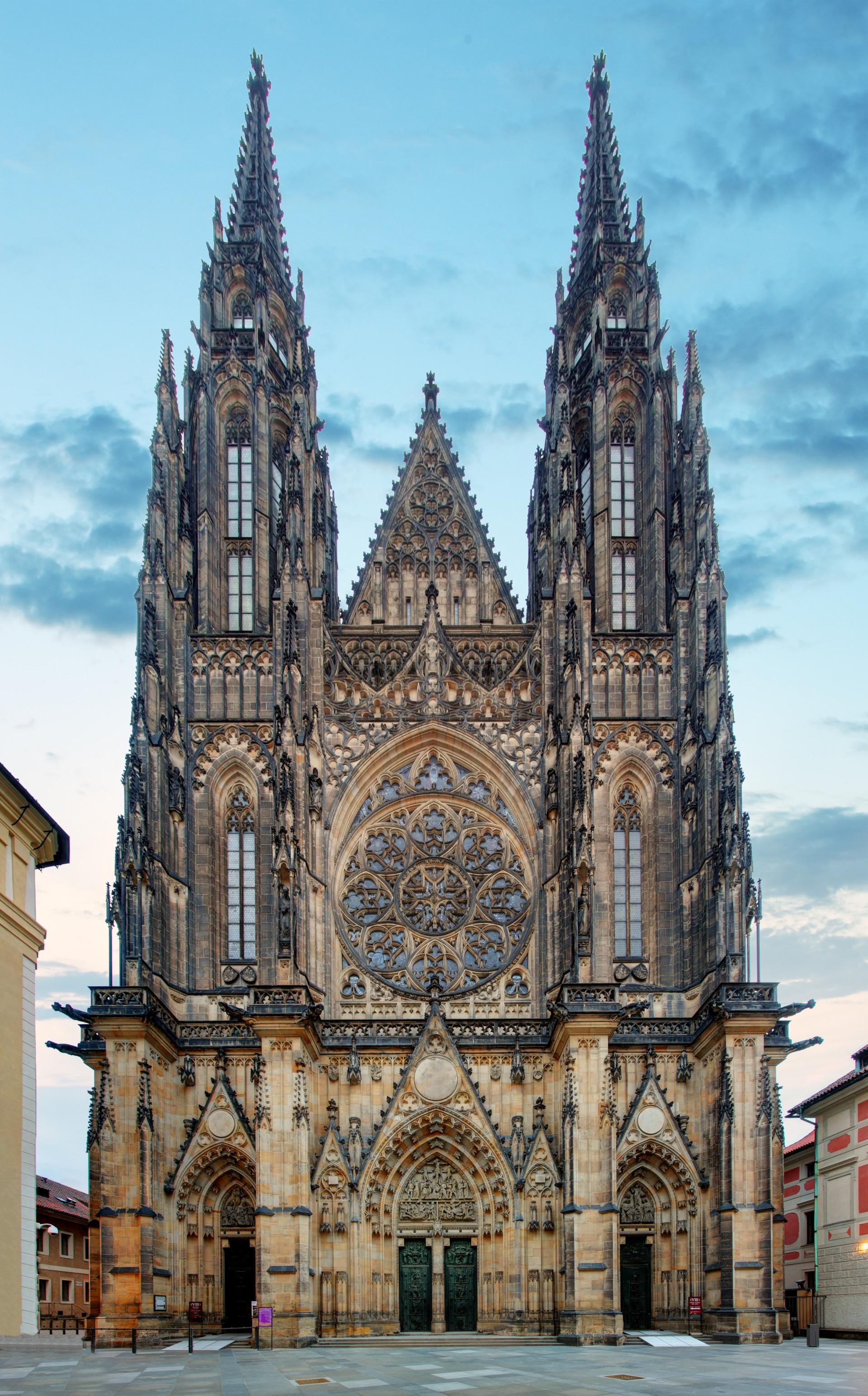 Katedrála svatého Víta, Václava a Vojtěcha.