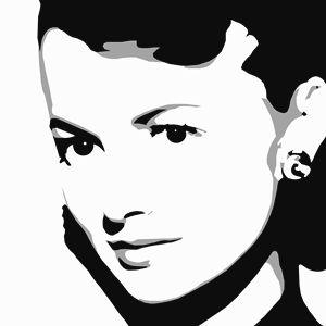 Actress Katharine Hepburn.