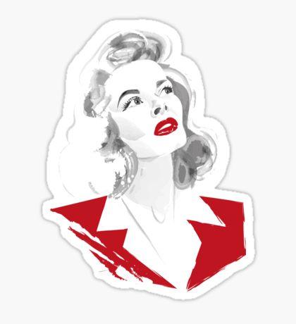 Katharine Hepburn: Stickers.