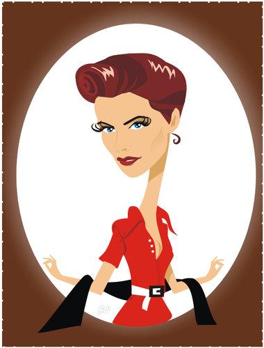 Katharine Hepburn By Nicoleta Ionescu.