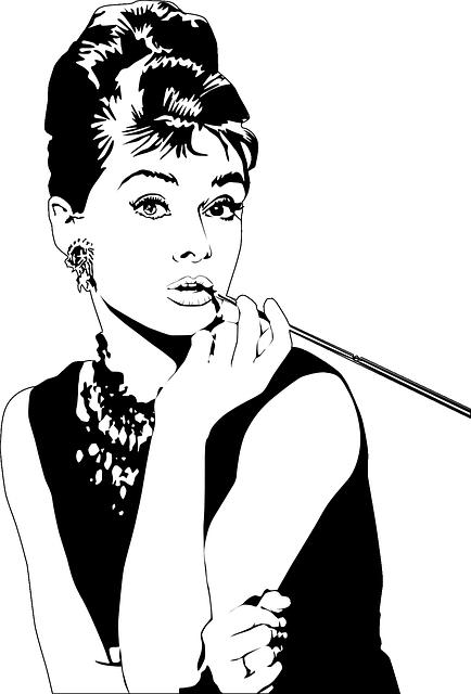 Katharine Hepburn Clipart.