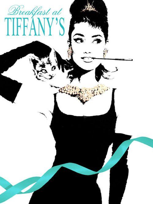 Audrey Hepburn Breakfast at Tiffany's.