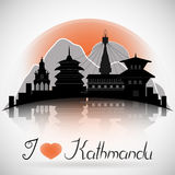 Kathmandu Stock Illustrations.