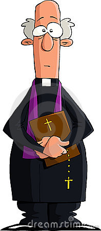 Katholischer pfarrer clipart.