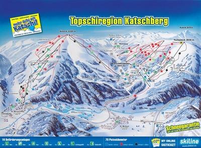 großes Skigebiet in Kärnten und Salzburg mit Schneegarantie.
