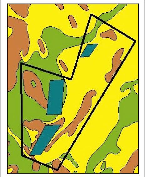 Figur 40 Sydlige Kattegat (Kort: GEUS (2000); AIS.