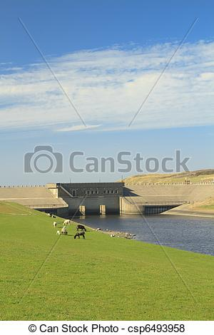 Pictures of Dam in Katwijk on the sea.