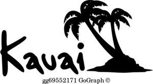 Kauai Clip Art.