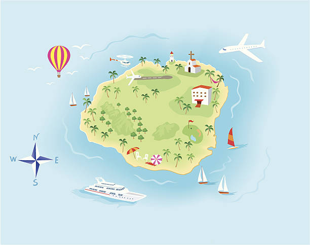 Best Kauai Hawaii Illustrations, Royalty.
