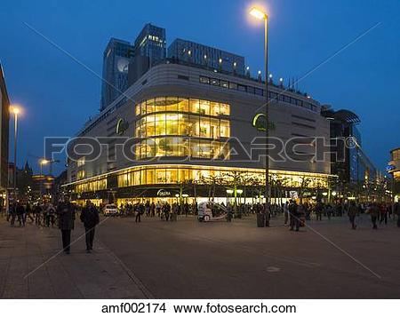 Stock Photo of Germany, Hesse, Frankfurt, Galeriea Kaufhof store.