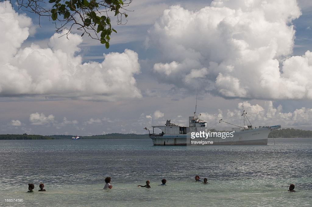 Kavieng Harbour, Papua New Guinea 2019.