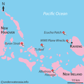 Kavieng, Papua New Guinea : UnderwaterAsia.info.