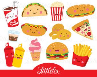 Cute Lunch Clipart.