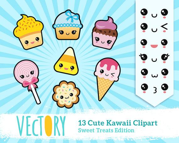Kawaii Clipart Food.