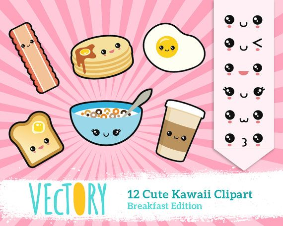 18 Best images about Kawaii Food Clipart & Illustrations on.