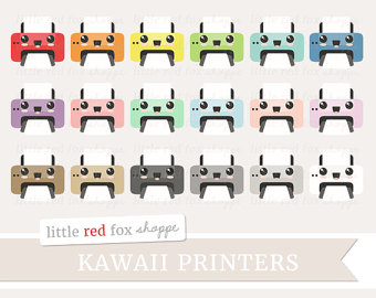 Kawaii printer.