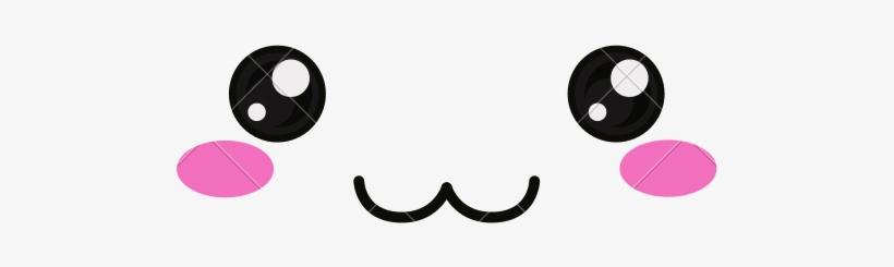 Kawaii Face Png Clip Art Stock.