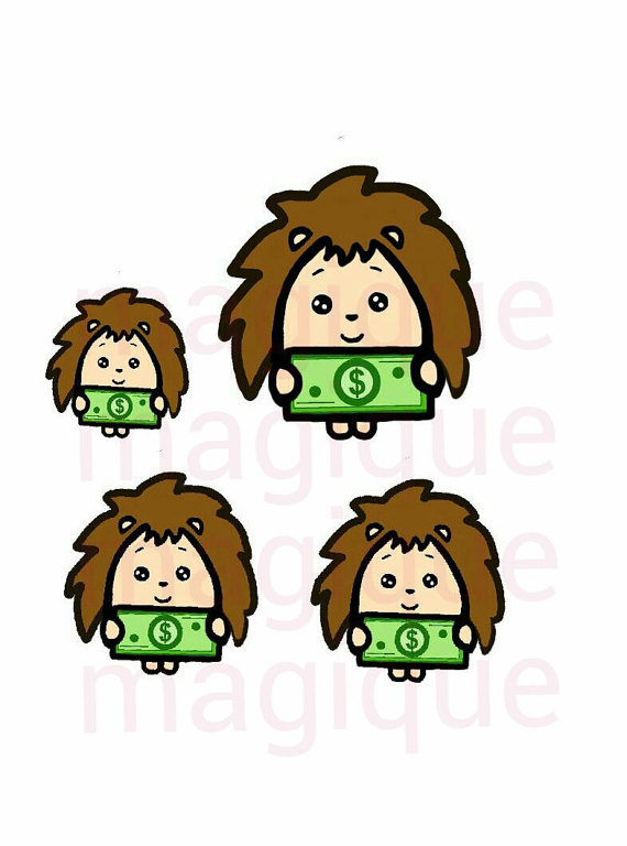 pay day stickers pay day clipart kawaii printable by Magiqueprints.