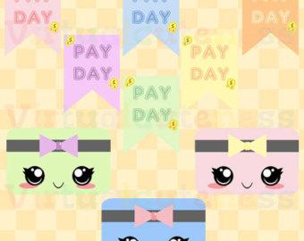 Kawaii Pay Day Clipart.